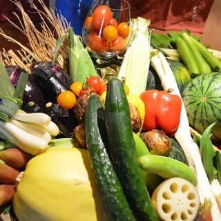 地場食材で通も唸る朝どれ江戸前魚介に江戸前の野菜