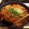 朝鮮飯店 - 料理写真:初めてのカルビラーメン