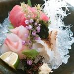 四季会席 香桜凛 - 造り盛り合わせ