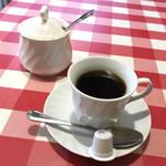 ペンナロッソ - ランチセットのコーヒー