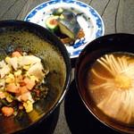 龍吟 - 菊椀、菜菜漬け