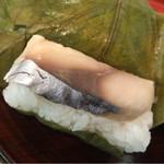 71601992 - 柿の葉寿司 鯖