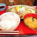 71602157 - 博多夢豚塩炒めおろしポン酢
