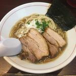 零一弐三 - 料理写真:「煮干しそば」750円