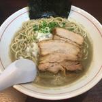 零一弐三 - 「濃厚煮干し蕎麦」800円