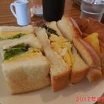 LOHAS cafe - モーニングCセット \500