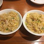 華ぐるま - 料理写真:チャーハンは分けてくれた