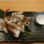 すし亭 - ゲソ塩焼き