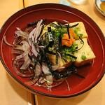 すし亭 - 揚げ出し豆腐