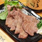 牛タンの西京焼き