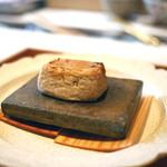 くろぎ - 胡麻豆腐の陶板焼き