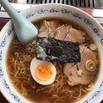 東京まんぷくラーメン - 手打ち正油味ラーメン¥650