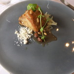 ポンテ デル ピアット - 【肉料理】群馬産口どけ加藤ポークの煮込み アグロドルチェ