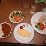 姫沙羅 - こんな感じで食べました