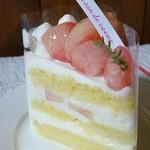 心のおと - もものショートケーキ