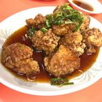 台湾ラーメン 幸龍 - 酢豚920円