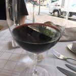 ポンテ デル ピアット - グラス赤ワイン