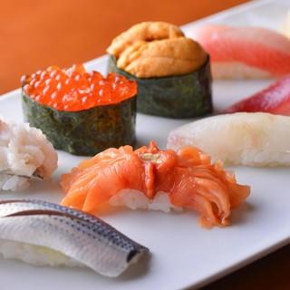 【オススメのコース】おまかせ寿司