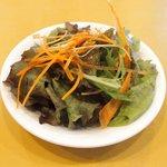 レストラン キヅカ - 銘柄豚ロース肉グリル 1080円 のサラダ
