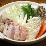 大山鶏鶏鍋