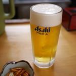 塩天丼 - ドリンク写真:生ビール~☆