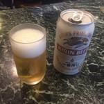 ケーツーカレーハウス - ビール(キリン)