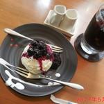 東向島珈琲店 pua mana - レアチーズケーキ