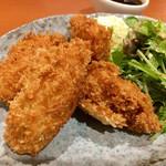 貝料理専門店 磯ばし - カキフライ (*´v`*)