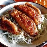 71617081 - 「ソースかつ丼セット」のソースかつ丼