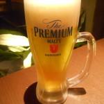 地鶏個室居酒屋 鼓 - 生ビール