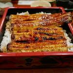 加賀本店 - 料理写真:うな重(特大)