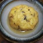大徳寺 京豆腐 小川 - ヒロウスの炊いたんは、お気に入りの益子焼に