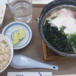 グリーンオアシス - 鍋焼うどんセット