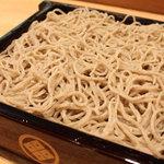 百承蕎麦 大和 - せいろ ・・・そば殻付の「玄そば」をそのまま挽き込んだ野趣味あふれる九一そばです。