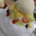 フルーツ プラザ - 生フルーツかき氷スペシャル
