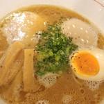 らぁ麺 紬 - こってり醤油ラーメン