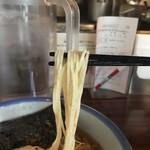 71623528 - 柚子塩らーめん麺アップ
