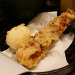 瀬戸内製麺710 - ☆ちくわ天&半熟玉子天(^o^)丿☆