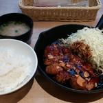 東京トンテキ - トンテキ定食 200g