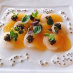 La Mer - 帆立貝のカルパッチョ