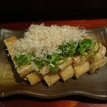 Uozaru - 栃尾の油揚げネギ味噌