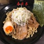 春日亭  - とん黒油そば(中盛)