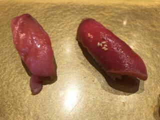 まんてん鮨 日本橋 - 本マグロ食べ比べ。間違いない。。