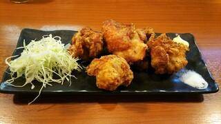 らぁ麺 とうひち - 唐揚げ(4個)