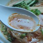 ブルーパパイヤ - 冷やしトムヤムヌードルのスープ