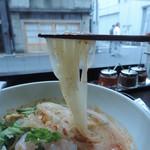 ブルーパパイヤ - 冷やしトムヤムヌードルの麺
