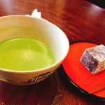71632212 - お抹茶と生菓子♪