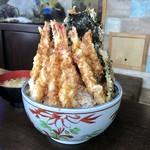 71632292 - 海老天丼、1080円です。