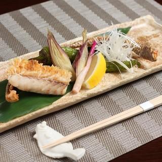 熟成された白身魚の旨味