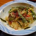 志摩磯料理かもめ家 - 3種てこね寿司